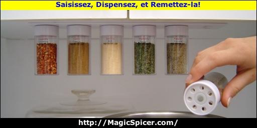 piceur magique support pices magn tique qui se scelle automatiquement avec pots d 39 pices. Black Bedroom Furniture Sets. Home Design Ideas